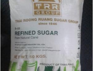 น้ำตาลทรายขาวบริสุทธิ์ ตรา TRR GROUP ขนาดบรรจุ 50  กิโลกรัม
