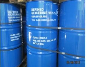 กลีเซอรีนบริสุทธิ์ Refined Glycerin 1 kg of RG