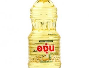 น้ำมันถั่วเหลืองผ่านกรรมวิธี ตราองุ่นบรรจุขวด ขนาด 1900 มิลลิลิตร