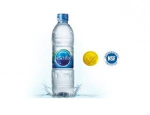 น้ำดื่มคริสตัล บรรจุขวด PET  1 ขวด ขนาด 600 มิลลิลิตร