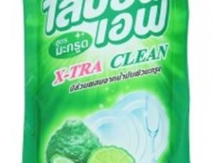 ผลิตภัณฑ์ล้างจาน ไลปอนเอฟ สูตรมะกรูด ชนิดเติมขนาด 500 ml (functional unit: 38.46 ml/จาน 100 ใบ)