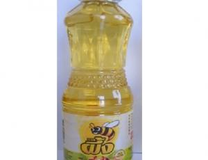น้ำมันปาล์มโอเลอินจากเนื้อปาล์มผ่านกรรมวิธี บรรจุโดยขวด PET ปริมาตรสุทธิ 250 มล.