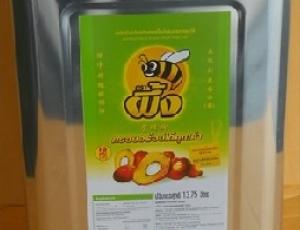น้ำมันปาล์มโอเลอินจากเนื้อปาล์มผ่านกรรมวิธีตราผึ้ง ชนิดปี๊บ 13.75 ลิตร