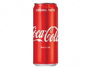 น้ำอัดลมโคคา-โคลาบรรจุกระป๋อง CAN 325 ml