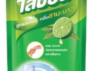 ผลิตภัณฑ์ล้างจาน ไลปอน กลิ่นชามะนาว ชนิดเติมขนาด 500 ml