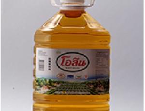 น้ำมันปาล์มโอเลอินจากเนื้อปาล์มผ่านกรรมวิธี ตรา โอลีน บรรจุขวด 5 ลิตร
