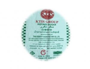 น้ำตาลทรายขาวบริสุทธิ์  ตรา KTIS ขนาดบรรจุ 50 กิโลกรัม