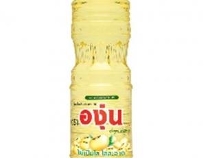 น้ำมันถั่วเหลืองผ่านกรรมวิธี ตราองุ่นบรรจุขวด ขนาด 750 มิลลิลิตร