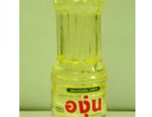 น้ำมันถั่วเหลืองผ่านกรรมวิธี ตราองุ่น บรรจุในขวดเพ็ท ขนาด 230 มิลลิลิตร