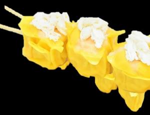ขนมจีบปู 1 ไม้ - ขนมจีบ 4 ลูก น้ำหนักสุทธิ 64 กรัม