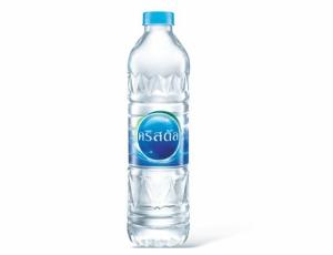 น้ำดื่มตราคริสตัล บรรจุขวดพีอีที ขนาด 600 ลบ.ซม. 1 ขวด