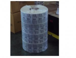 ฉลากสำหรับติดผลิตภัณฑ์ประเภทฟิล์มพีพี บรรจุด้วยถุงพลาสติก