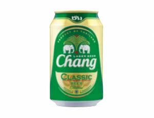 เบียร์ช้างคลาสสิก บรรจุกระป๋อง 320 ลบ.ซม. (ส่งออก)