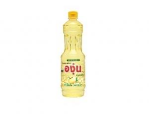 น้ำมันถั่วเหลืองผ่านกรรมวิธี ตราองุ่นบรรจุขวด ขนาด 230 มิลลิลิตร