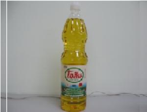 น้ำมันปาล์มโอเลอินจากเนื้อปาล์มผ่านกรรมวิธี ตรา โอลีน บรรจุขวด 1 ลิตร
