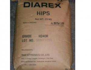 เม็ดพลาสติกโพลีสไตรีน ชนิดทนแรงกระแทกสูง เกรด H240R