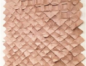 แผ่นบุผนังจากกระดาษรีไซเคิล แบรนด์ จินนาลักษณ์ 1 ตารางเมตร