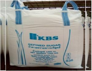 น้ำตาลทรายขาวบริสุทธิ์ ตราเคบีเอสขนาด 1000 กิโลกรัม