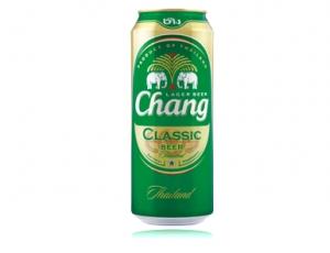 เบียร์ช้างคลาสสิก บรรจุกระป๋อง 620 ลบ.ซม. (ส่งออก)