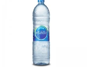 น้ำดื่มคริสตัล บรรจุขวด PET ขนาด 1500 มิลลิลิตร