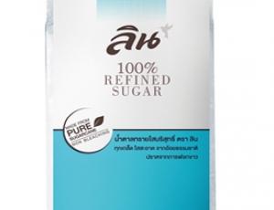 น้ำตาลทรายใสบริสุทธิ์ ตราลิน บรรจุ 1 กิโลกรัม