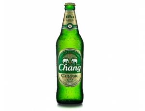 เบียร์ช้างคลาสสิก บรรจุขวดแก้ว 620 ลบ.ซม. (ส่งออก)