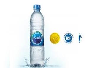 น้ำดื่มคริสตัล บรรจุขวด PET ขนาด 600 มิลลิลิตร